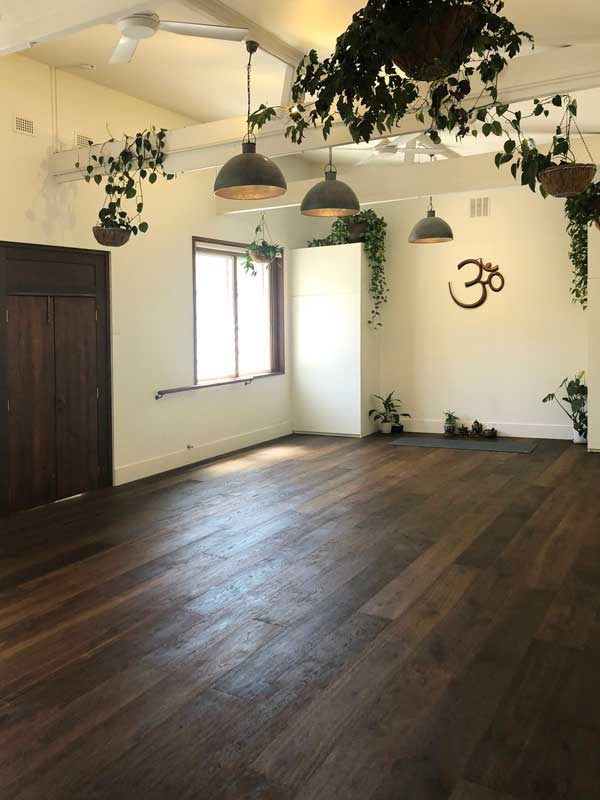 Union Street Yoga's converted warehouse creates a unique, welcoming space